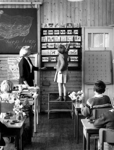 Una escuela en Holanda (Archivo en Flickr)