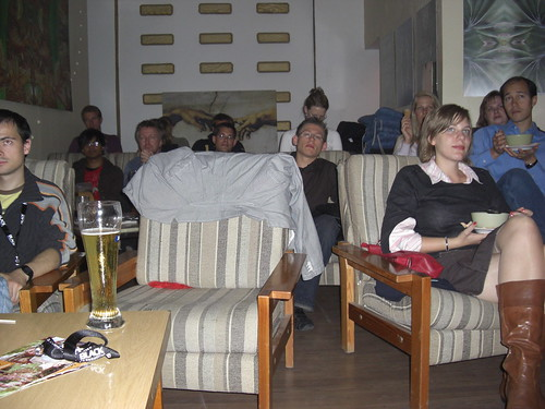 TV-Duell-Party in Pankow
