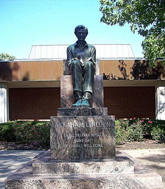 About Lincoln College In Lincoln Il Flashback Abraham