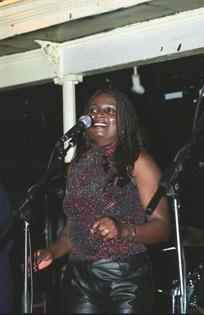 Impala from Uganda at the Africa Centre London April 2002 001