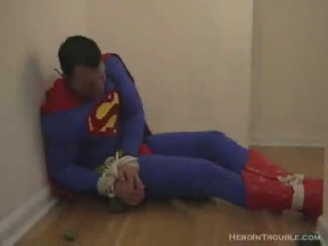 Superman Tied Up Tight