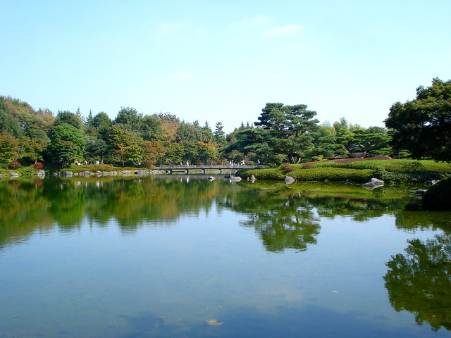 Japanese Garden (日本庭園) at the Showa Kinen Park (国営昭和記念公園)