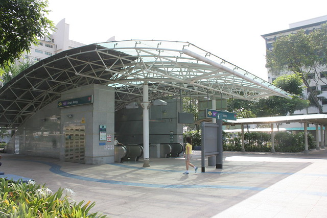 Boon Keng MRT near to The Hive Backpackers' Hostel, Singapore