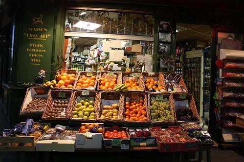 Frutería de Amelie, París