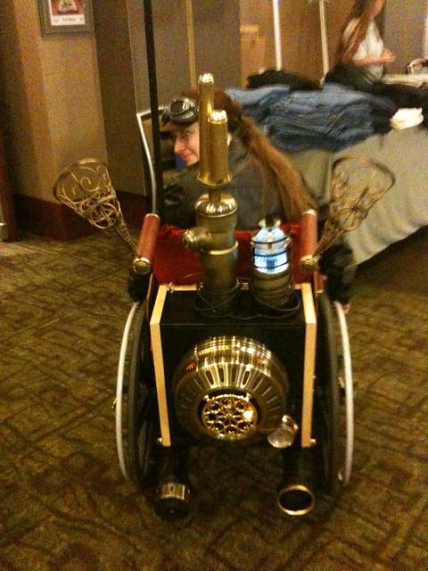 Steampunk Wheelchair 2
