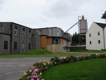 Macallan still house and draff plant