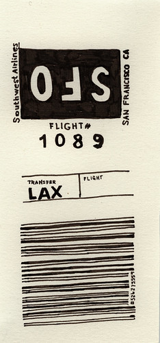 Baggage Claim Ticket