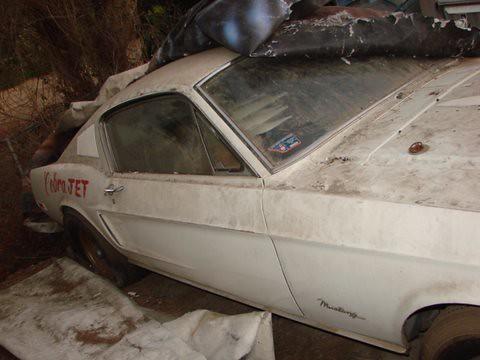 68 Cobra Jet Mustang Barn Find 68 Cobra Jet Mustang Barn