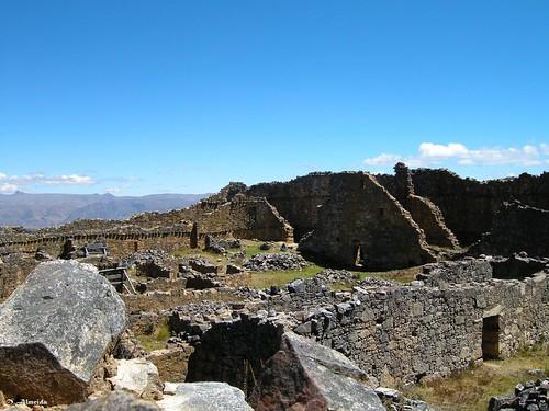 Marcahuamachuco: Galería circular de Las Monjas
