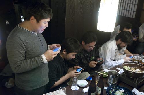 java-ja 忘年会 2010, 北海道渋谷駅前店