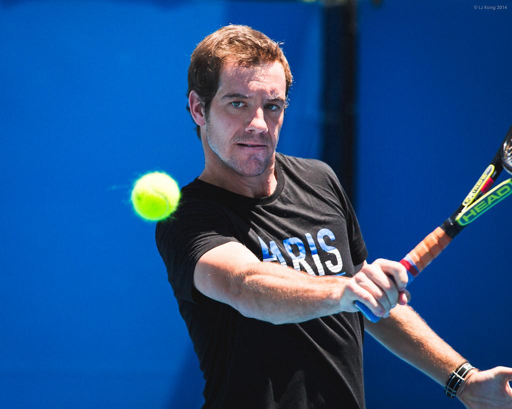 Australian Open - Richard Gasquet Practice