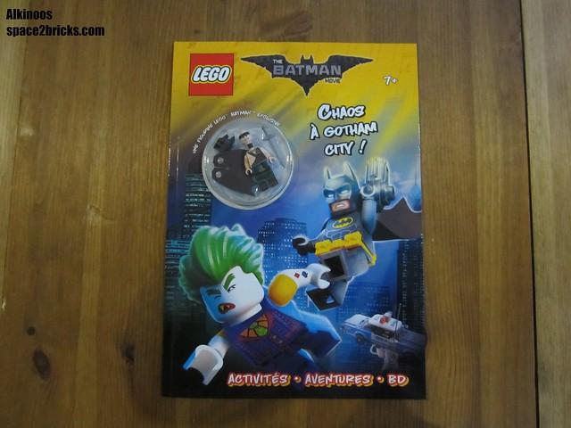 Lego tartan Batman p1