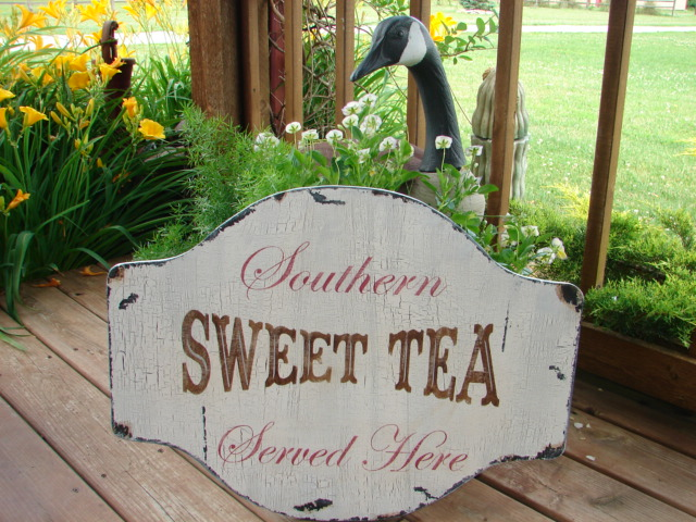 Cottage Sign Southern Sweet Tea | Flickr - Photo Sharing!