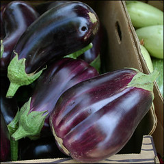 vegetable, eggplant, produce, food,