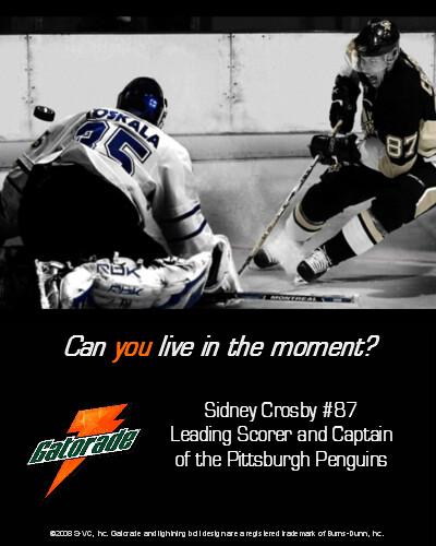 Sidney Crosby Gatorade Magazine Ad | Flickr - Photo Sharing!