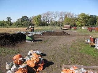 Compost area