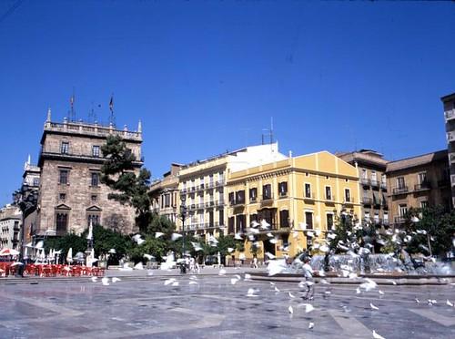 Valencia/València (ciudad) - Plaza de la Virgen