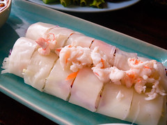 Spring Rolls with Papaya & Crab Meat