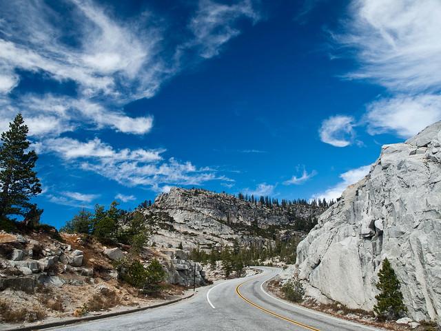 Tioga Road at Olmsted (Yosemite 3: 8/29)