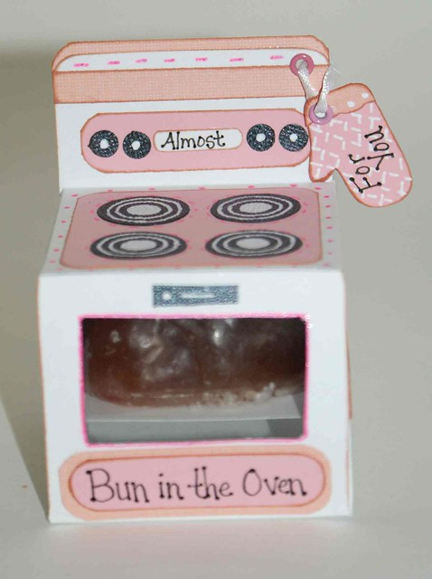 bun in the oven baby shower favor flickr photo sharing