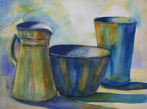 Still Life in Threes