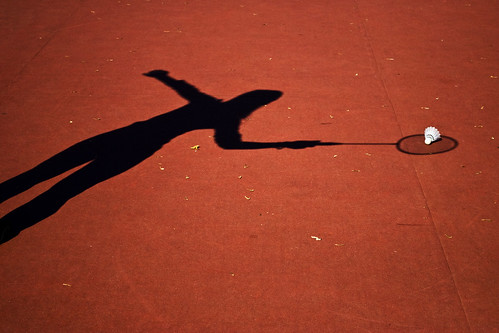 shadow badminton
