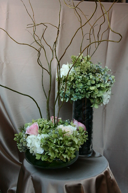 High and Low Centerpieces