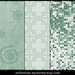 Tileable Grungy Mint Green Photoshop Patterns