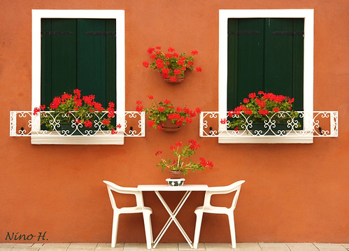Windows from Burano