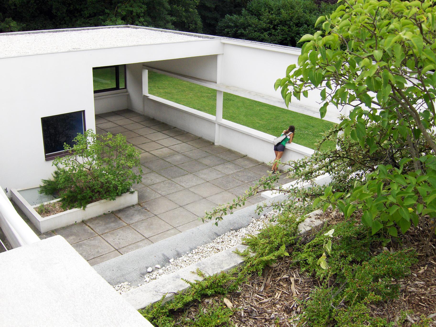 Terrasse Villa Savoye : Villa Savoye, roof terrace Flickr Photo Sharing!
