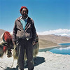 man with a yak