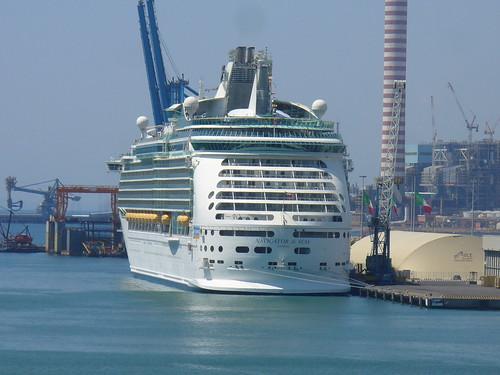 Cruise world let 39 s cruise from civitavecchia italy - Port of civitavecchia cruise terminal ...