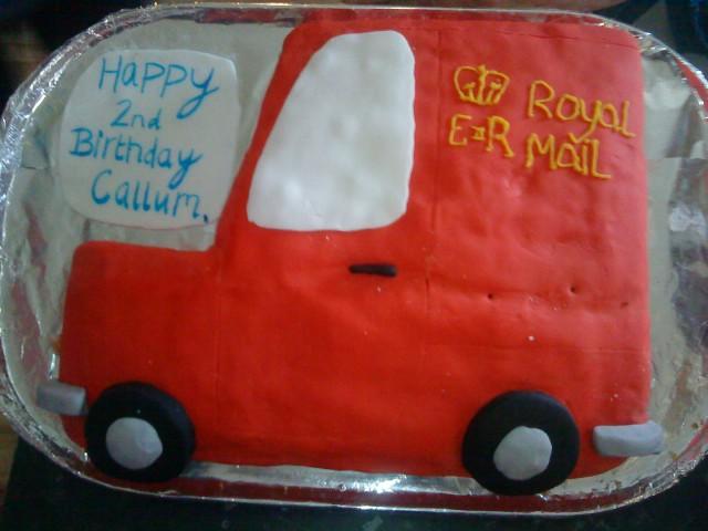 Postman Pat Birthday Cake Topper