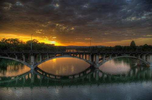 sky austin texas footbridge ladybird lamar hdr top20texas bestoftexas