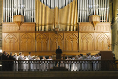 cathedral, organ pipe, musical instrument, organ, pipe organ,