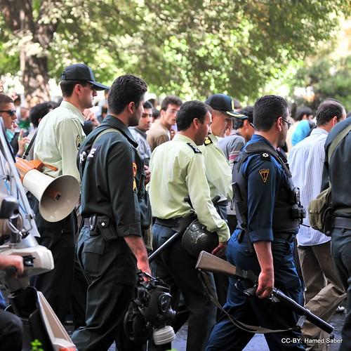 Quds Day / Tehran / Policemen