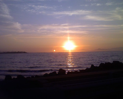 Sunset from Emeryville