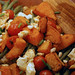 Pearl barley salad with roast butternut, green beans and feta