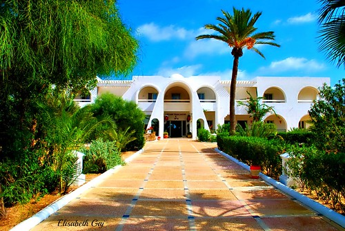 travel building architecture hotel tunisia djerba afryka elisabethgaj diamondclassphotographer flickrdiamond 100commentgroup