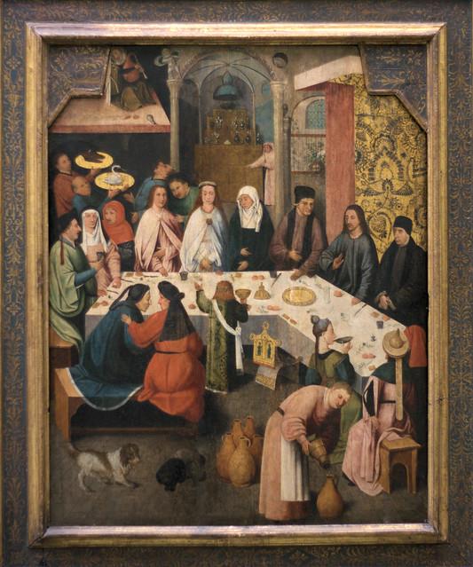 Museum Boijmans van Beuningen - Bruiloft te Kana, naar Jheronimus Bosch