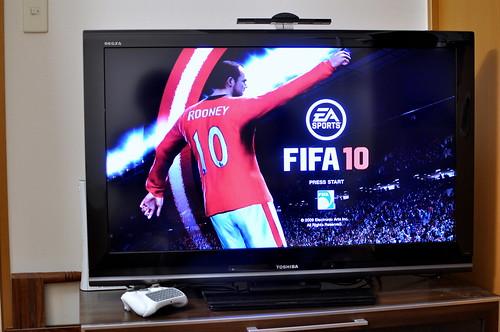 my brand new tv (TOSHIBA REGZA A8000 40inch)