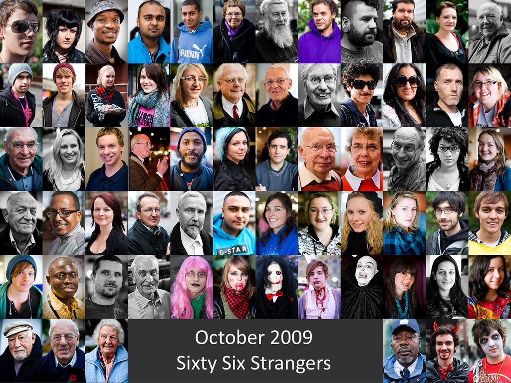 October 2009 - Sixty Six Strangers by SimonButlerPhotography