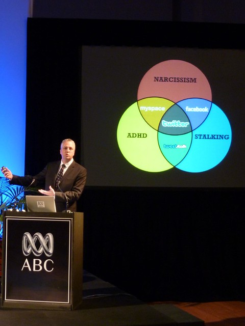 ABC Managing Director Mark Scott - Explaining What Social Media Is About - Media140 Sydney