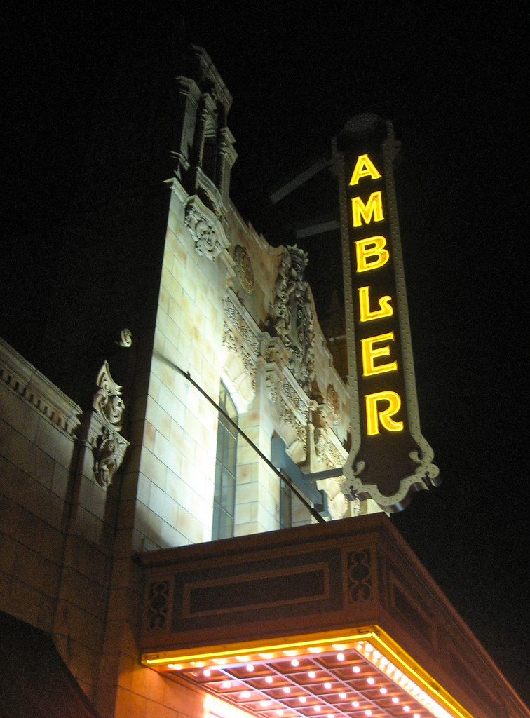 Ambler Theater Marquee Ambler PA