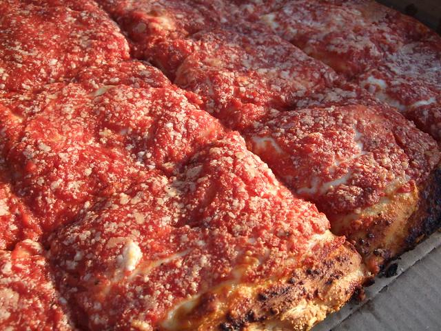 L B Spumoni Gardens Square Pizza Flickr Photo Sharing