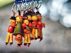 key chain dolls
