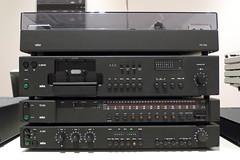 audio receiver, multimedia, electronics, cassette deck,