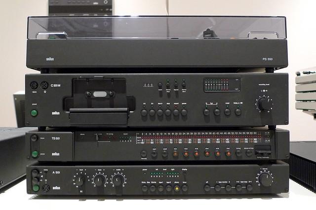 Braun Studio Hi-fi System