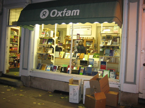 Oxfam Bookshop, St Giles, Oxford