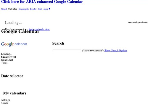 Google Calendar - busted